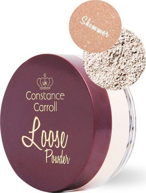 Constance Carroll Puder sypki Loos Shimmer 04 Natural Beige 12g 1