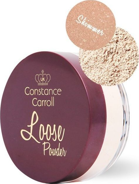 Constance Carroll Puder sypki Loos Shimmer nr 05 Honey Beige 12g 1