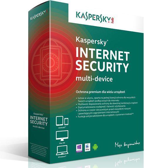 Kaspersky Lab Internet Security PL Multi-Device 2 stanowiska 1 rok BOX (KL1941PBBFS) 1