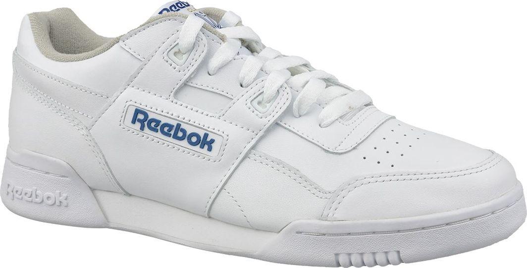 Reebok Buty męskie Classic Workout Plus białe r. 45.5 (2759) ID produktu: 6080165