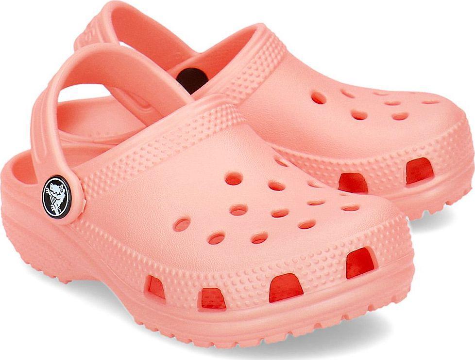 Crocs Klapki dziecięce Classic Clog Melon r. 3233 (204536) ID produktu: 6080774