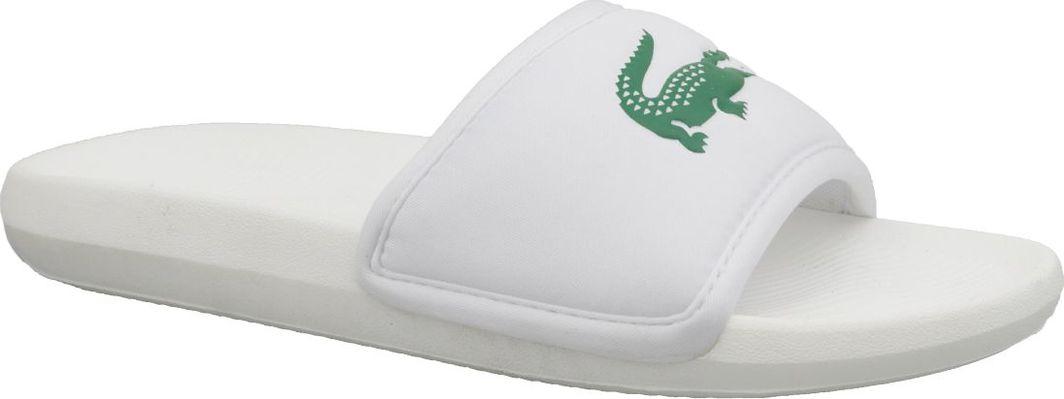 Lacoste Klapki męskie Croco Slide białe r. 44.5 (737CMA0020082) 1