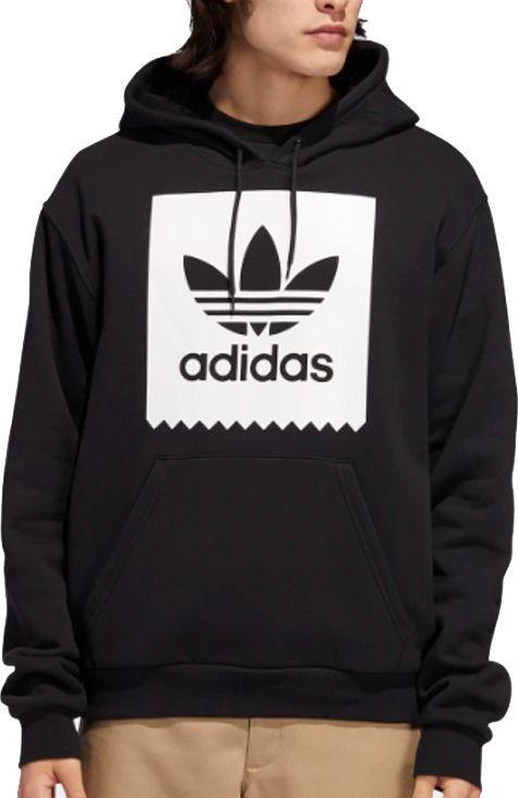 Adidas Bluza męska Solid Bb Hoodie czarna r. M (EC7323) ID produktu: 6082084