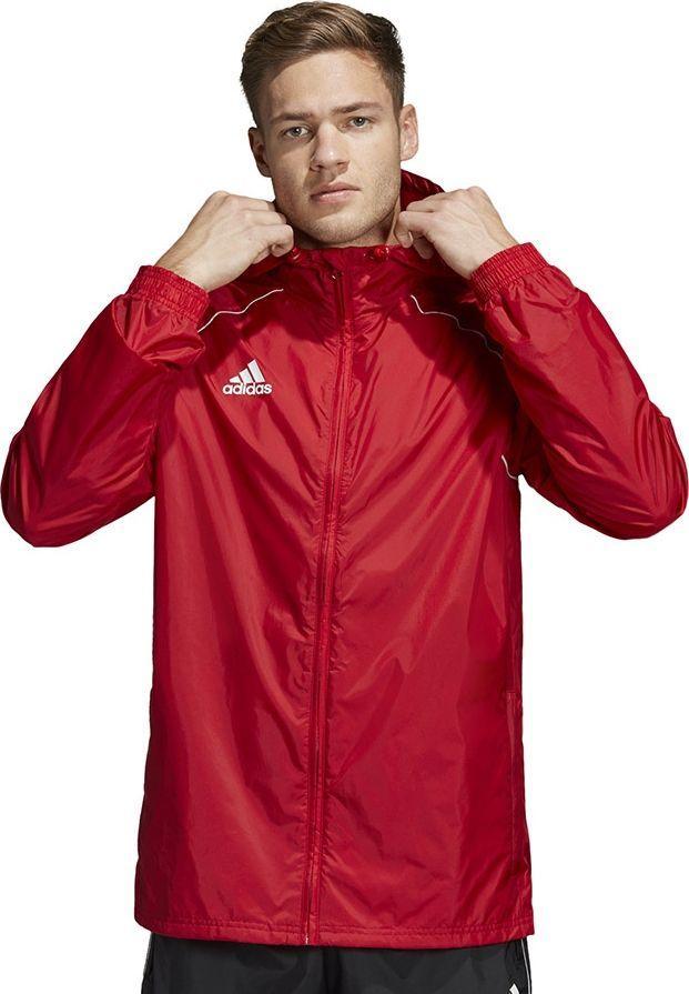 kurtka męska czerwona adidas