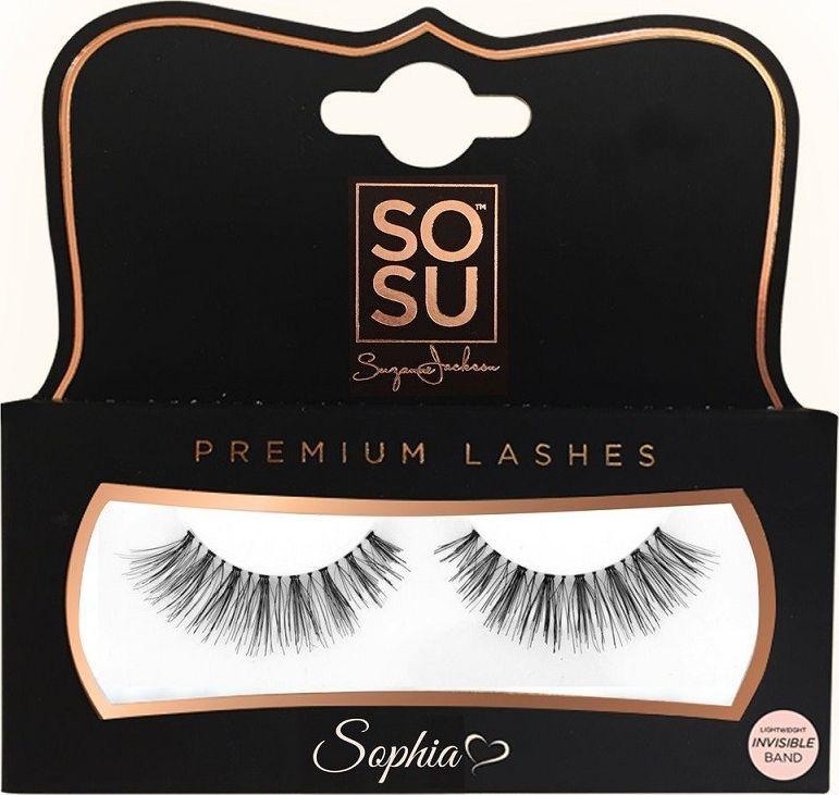 SOSU SOSU Premium Lashes Sztuczne rzęsy Sophia - 100% naturalne 1op. 1
