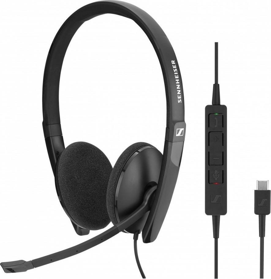 Słuchawki z mikrofonem Sennheiser SC 160 USB (508315) 1