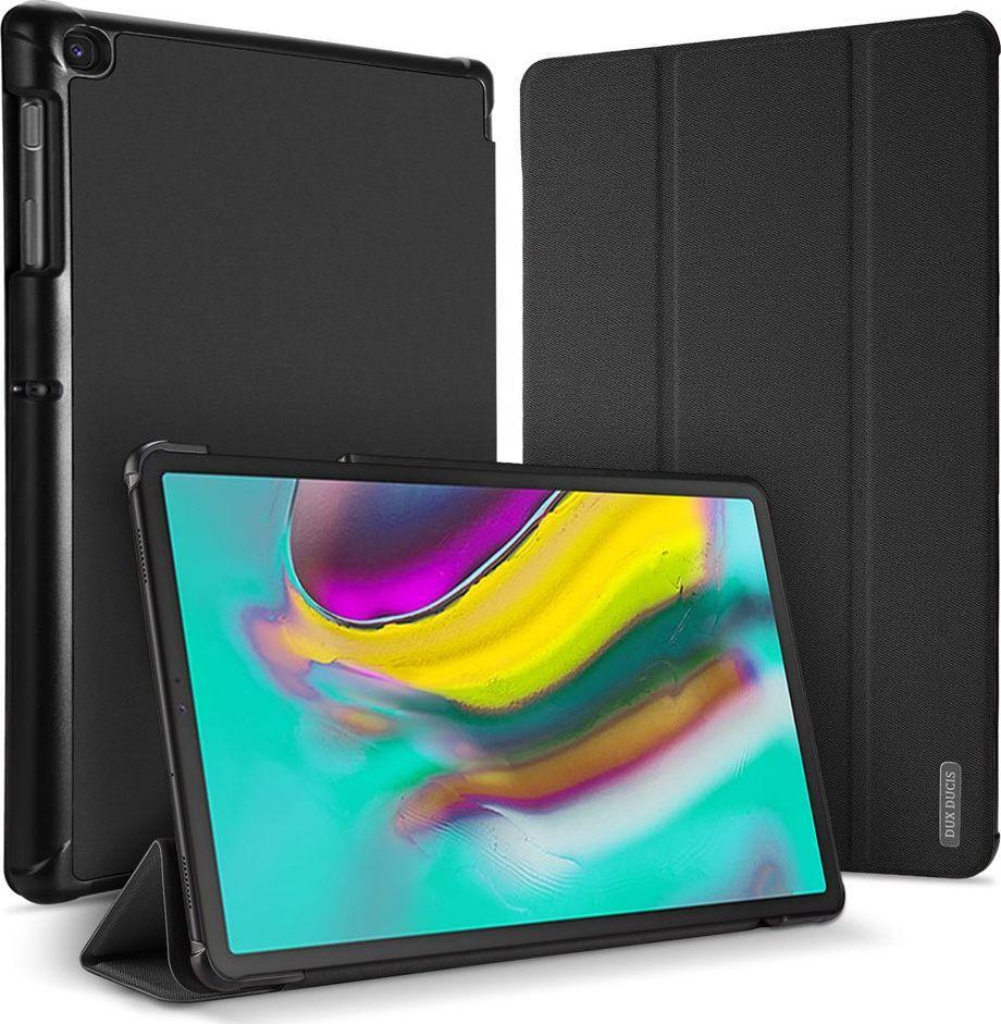 Etui do tabletu Dux Ducis DUX DUCIS Domo składany pokrowiec etui na tablet z funkcją Smart Sleep podstawka Samsung Galaxy Tab S5e T720 T725 czarny uniwersalny 1
