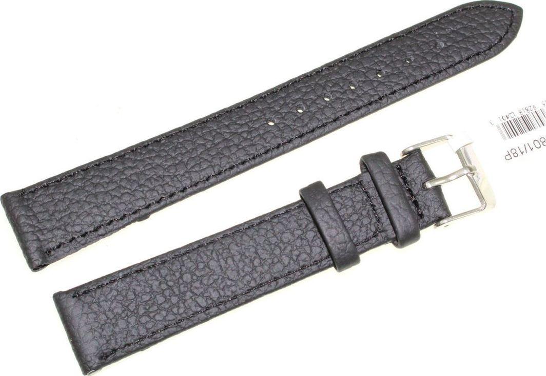 JVD Skórzany pasek do zegarka 18 mm JVD R22801-18P uniwersalny 1