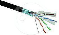 Solarix kabel instalacyjny zewnętrzny FTP CAT6 PE 500m/box SXKD-6-FTP-PE 1