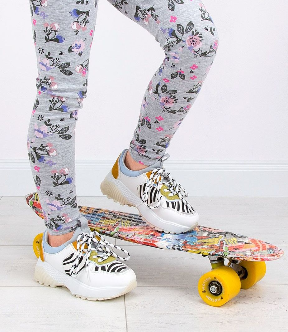 BELLO STAR Buty sportowe dziecięce Bello Star BO 110 Białe 28 ID produktu: 6093331