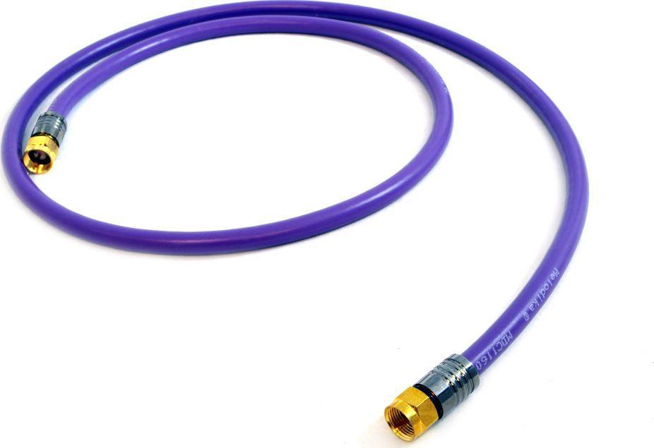 Kabel Melodika Antenowe 1m fioletowy 1