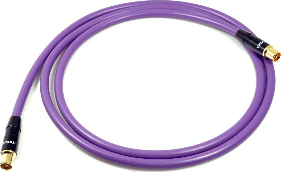 Kabel Melodika Antenowe 1.5m fioletowy 1