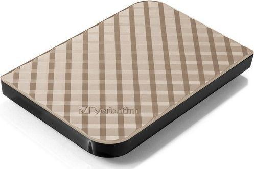 Dysk zewnętrzny Verbatim HDD Store 'n' Go 1.5 TB Czarno-fioletowy (53233) 1
