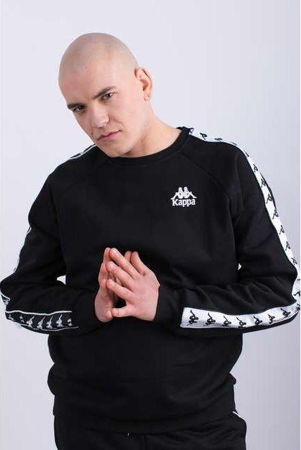 Kappa Bluza męska Edwin Sweatshirt Black r. XL (305003 005) ID produktu: 6094831