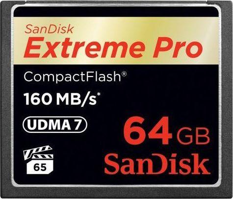 Karta SanDisk Extreme Pro Compact Flash 64 GB  (1238440000) 1
