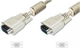 Kabel Assmann D-Sub (VGA) - D-Sub (VGA) 5m szary (AK310103050SIMP) 1