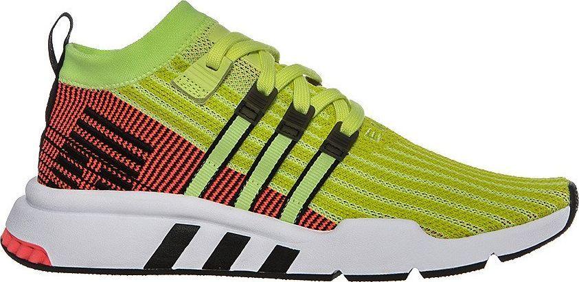 sportowe buty adidas equipment support damskie biały czerwony niebieski żółty