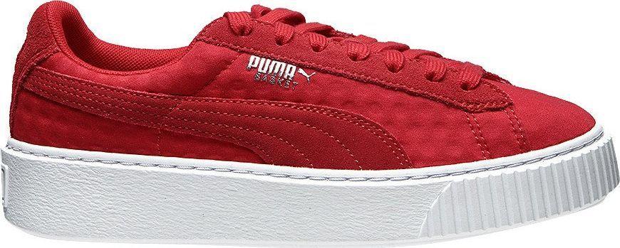 Puma Buty damskie Basket Platform De czerwone r. 39 (364102 03) ID produktu: 6100003
