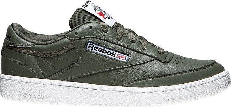 Buty dziecięce Reebok Club C 85 zielone r 37