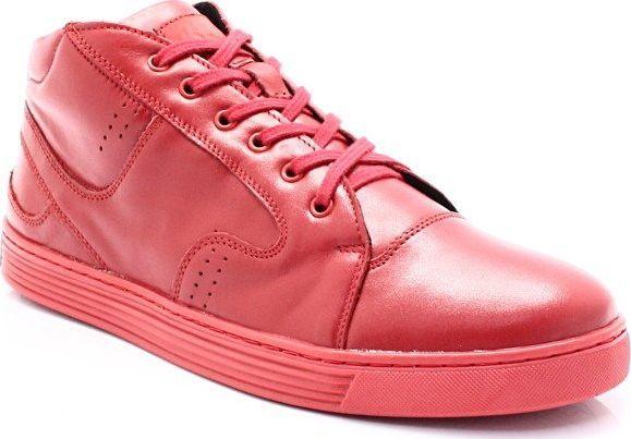 Kent KENT 303 CZERWONE Zimowe buty męskie, skóra 42 ID produktu: 6102921