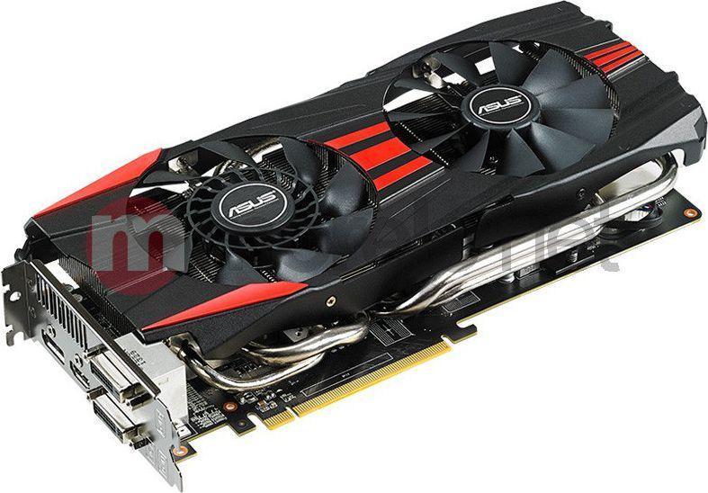 Karta graficzna Asus Radeon R9 280X, 3GB DDR5 (384 Bit), HDMI, DVI, DP  (R9280X-DC2T-3GD5) ID produktu: 610689
