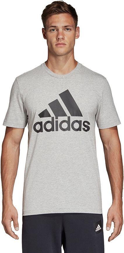 Adidas Koszulka męska MH BOS Tee szara r. M (DT9930) w Sklep  6cw9H