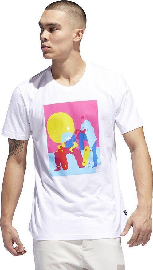 Adidas Koszulka męska Originals Burrage Tee biała r. M (DU8345) 1