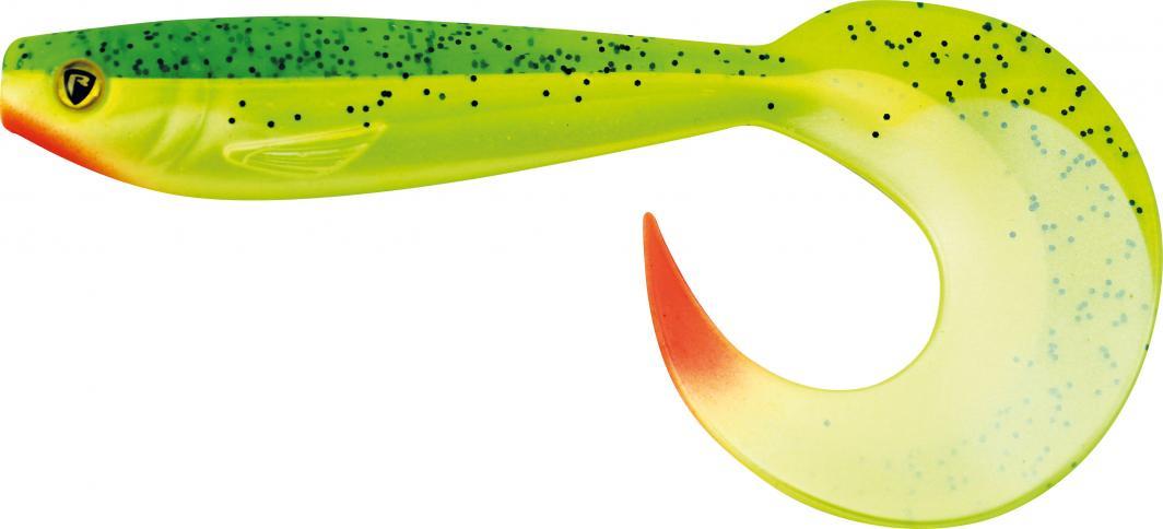 Fox Rage Pro Grub 12cm Lemon Tiger (UV) (NPG014) 1