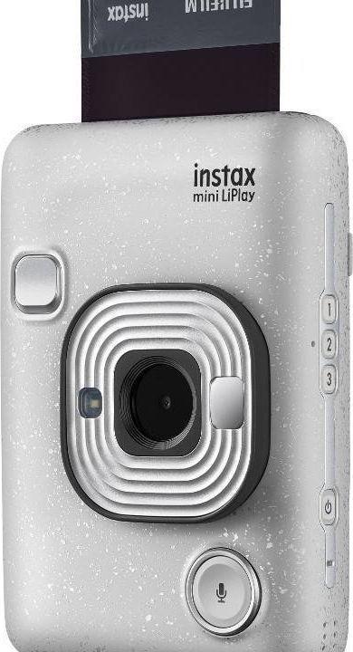 Aparat cyfrowy Fujifilm Instax Mini LiPlay biały 1