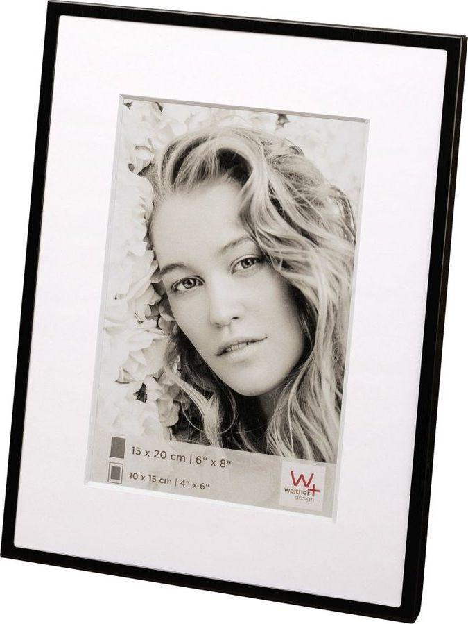 Ramka Walther Yuliya black 15x20 Aluminium Portrait 1