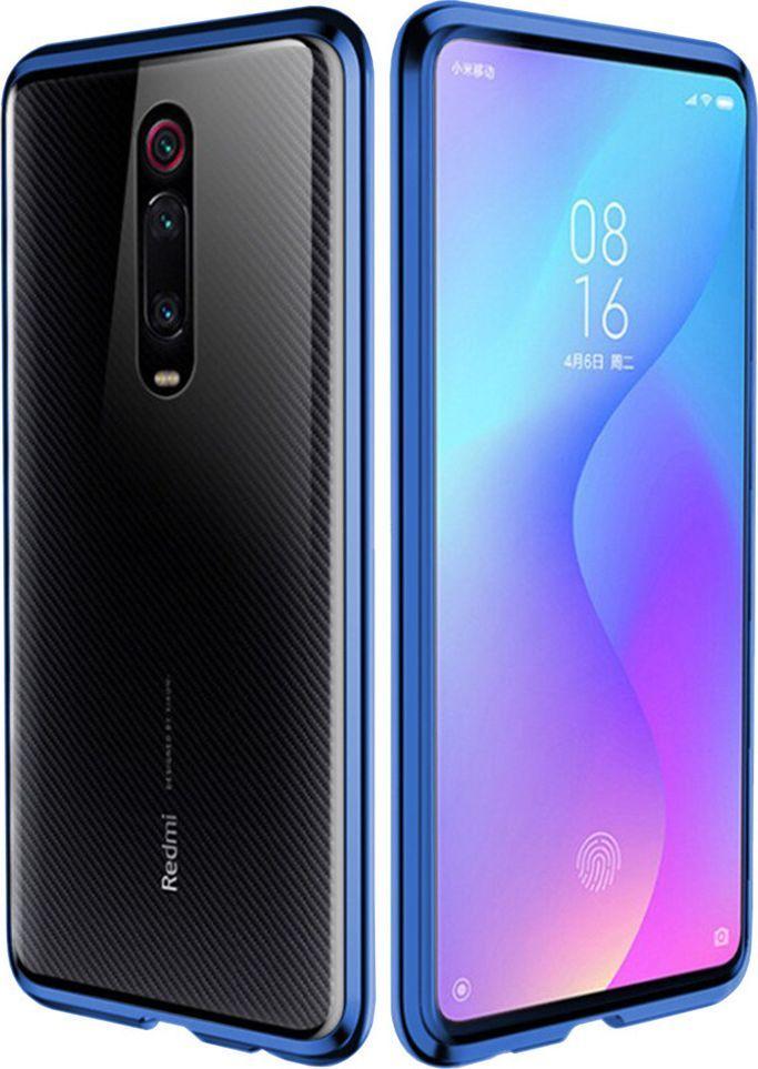Etui Magnetyczne Front+Back Xiaomi Mi 9T - Blue uniwersalny 1