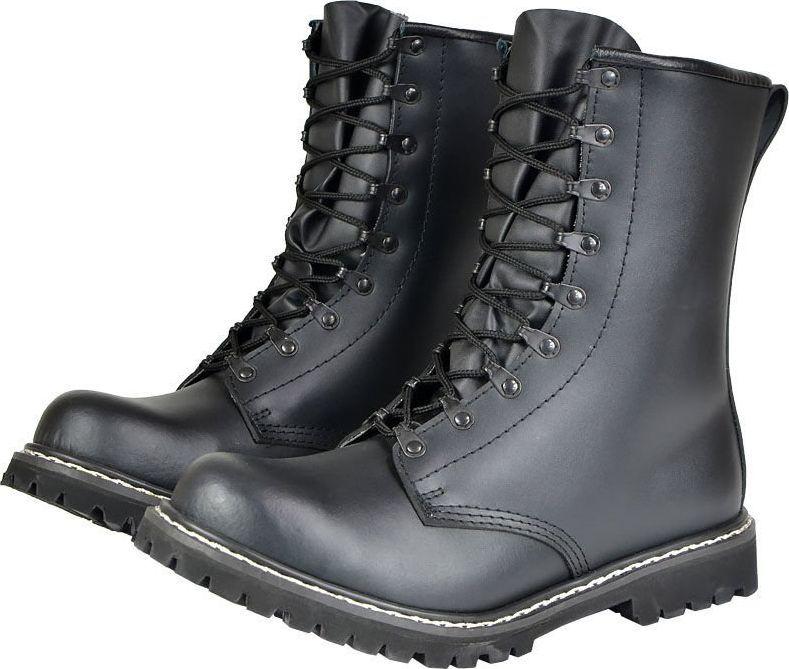 Mil-Tec Buty taktyczne męskie Skoczków Bundeswehr czarne r. 45 1