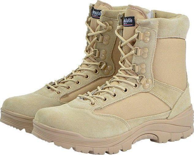 Mil-Tec Buty męskie Tactical khaki r. 44 1