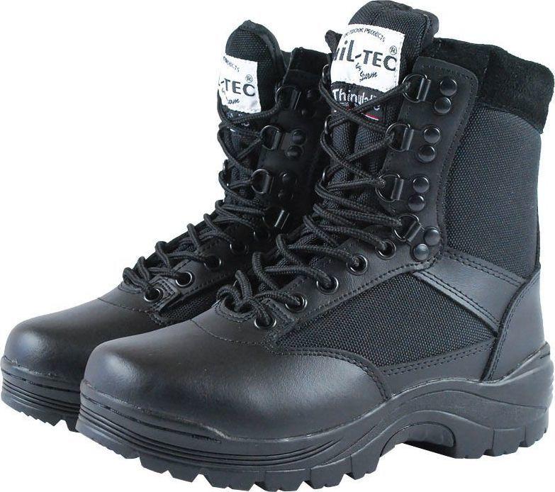 Mil-Tec Buty męskie SWAT czarne r. 40 1