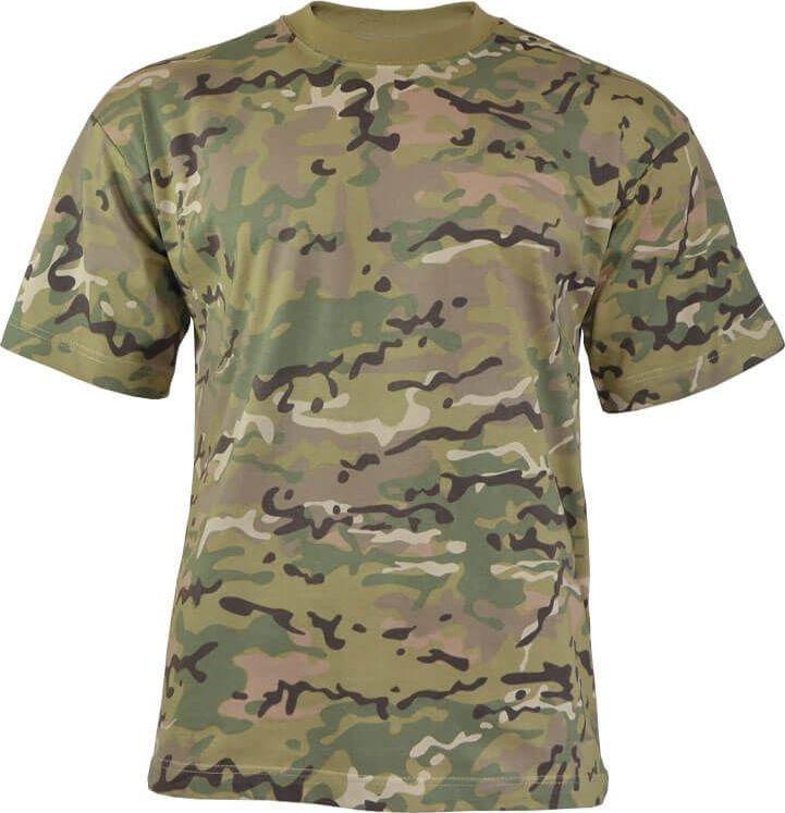 MFH Koszulka dziecięca Multicam r. S 1