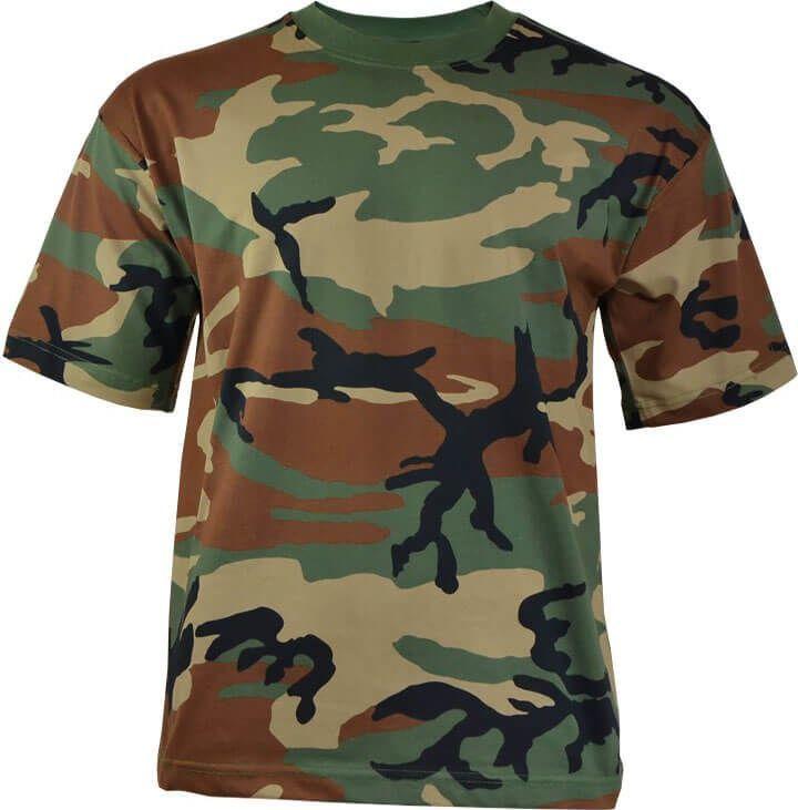 MFH Koszulka chłopięca Woodland r. XXL 1