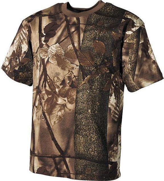 MFH MFH Koszulka T-shirt Hunter-Braun S 1