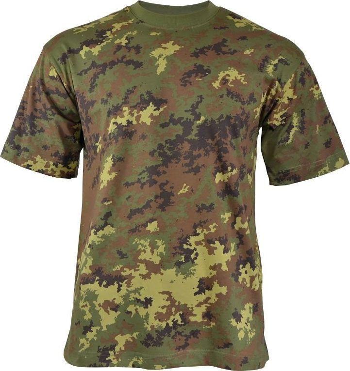 MFH MFH Koszulka T-shirt Vegetato Woodland XXL 1