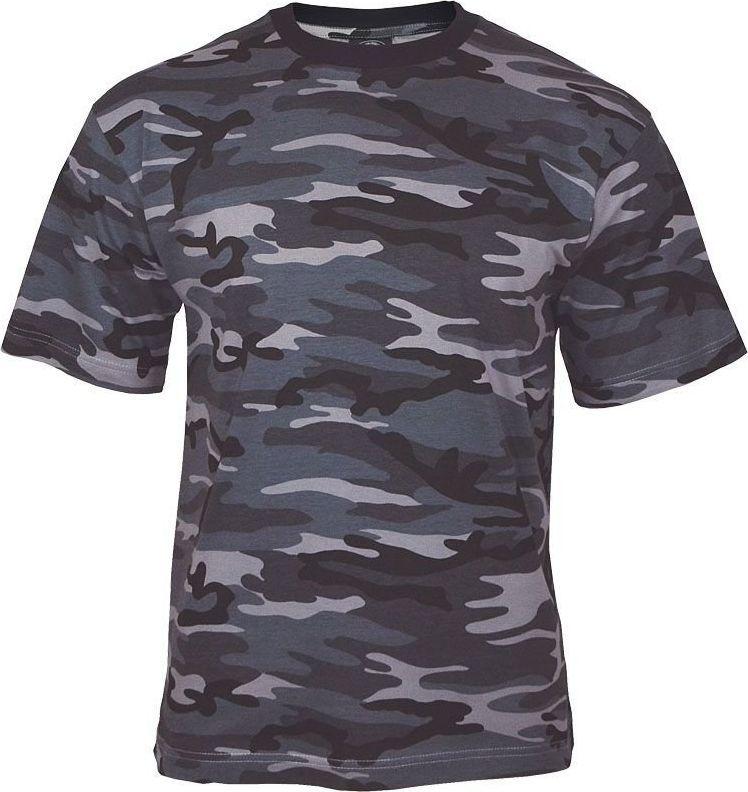 Mil-Tec Mil-Tec Koszulka T-shirt Dark Camo 3XL 1