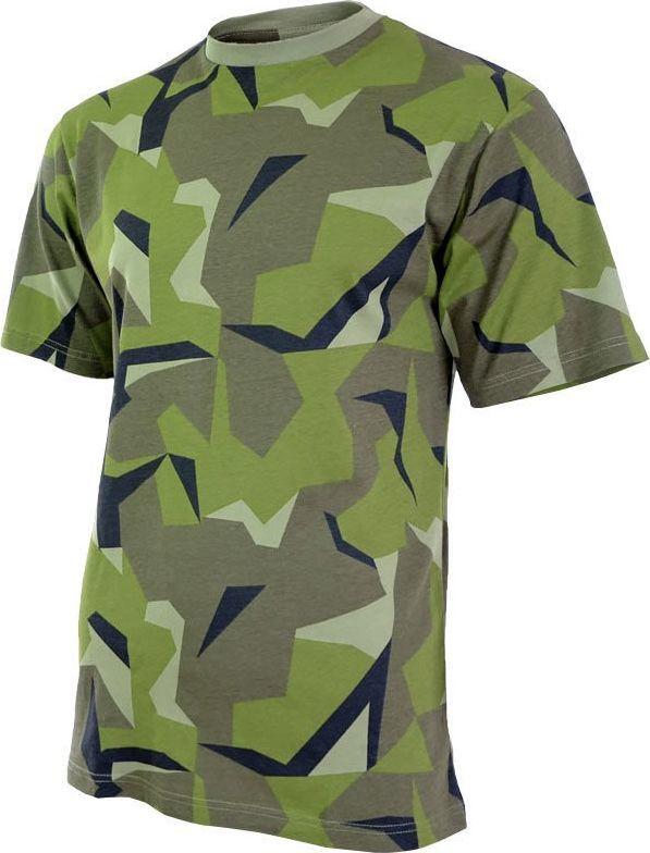 Mil-Tec Mil-Tec Koszulka T-shirt Szwedzkie Camo XXL 1
