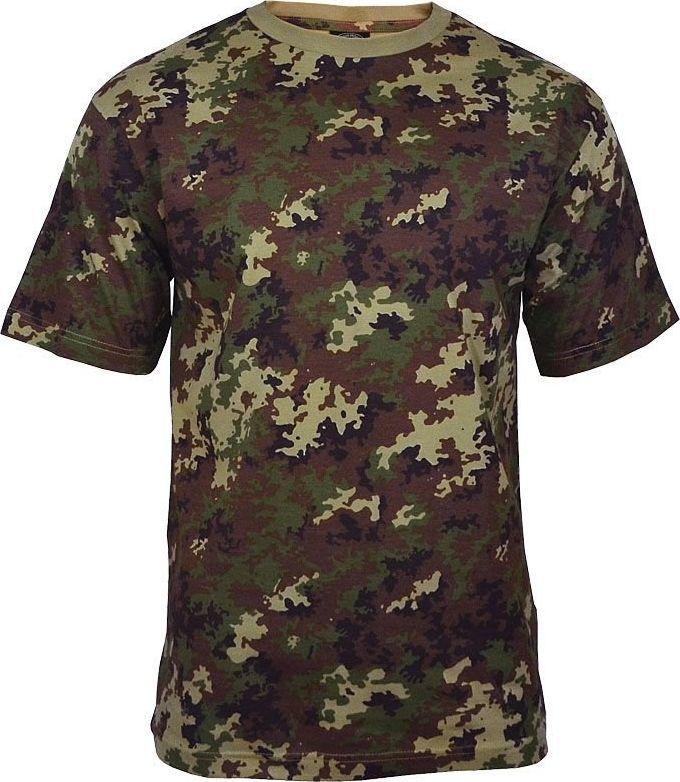 Mil-Tec Mil-Tec Koszulka T-shirt Vegetato Woodland 3XL 1