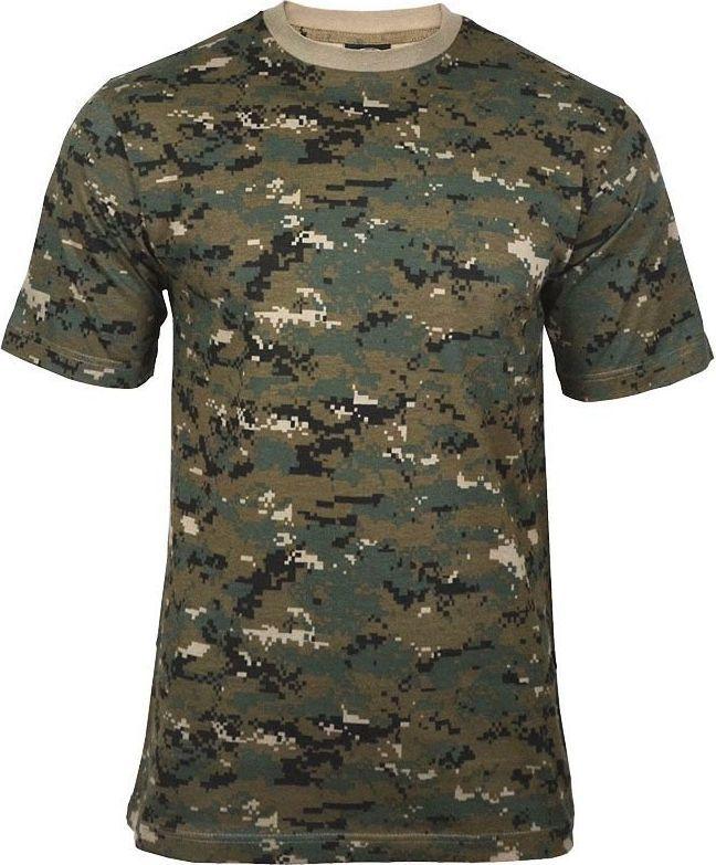 Mil-Tec Mil-Tec Koszulka T-shirt Digital Woodland (Marpat) L 1