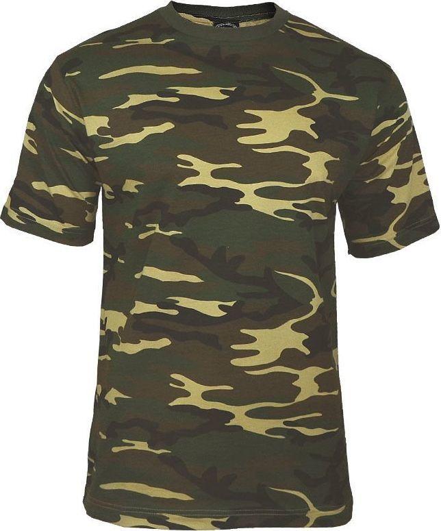 Mil-Tec Mil-Tec Koszulka T-shirt Woodland XXL 1