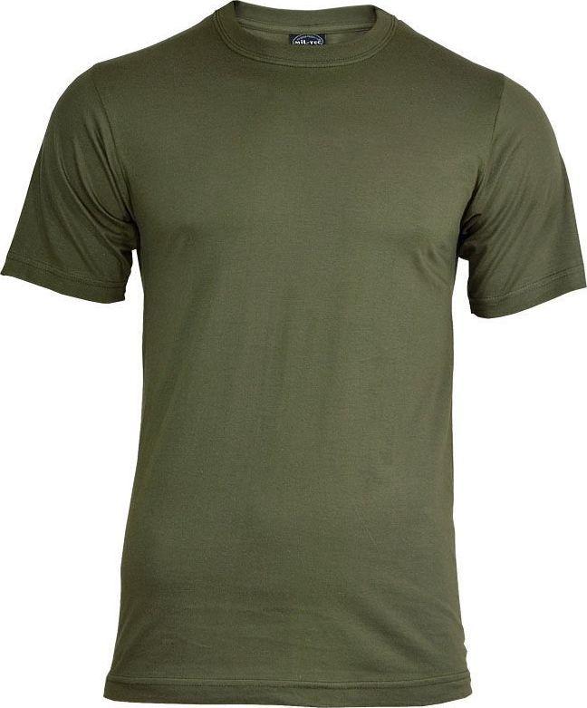 Mil-Tec Mil-Tec Koszulka T-shirt Szary-Olive M 1