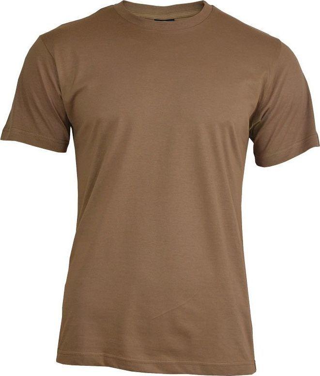 Mil-Tec Mil-Tec Koszulka T-shirt Brązowa M 1