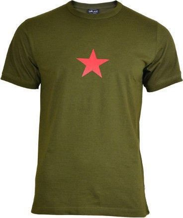 Mil-Tec Mil-Tec Koszulka T-shirt Olive z Gwiazdą M 1