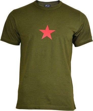 Mil-Tec Mil-Tec Koszulka T-shirt Olive z Gwiazdą S 1