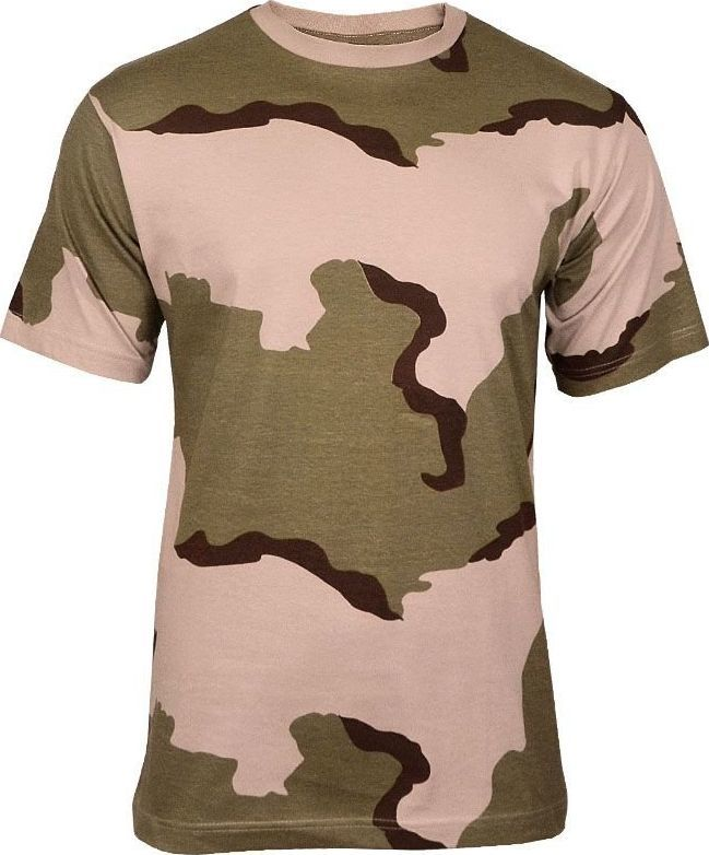 Mil-Tec Mil-Tec Koszulka T-shirt Desert 3-color 3XL 1