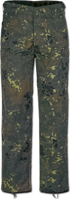 Brandit Brandit Spodnie Bojówki BDU US Ranger Flecktarn XXL 1