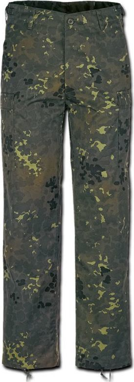 Brandit Brandit Spodnie Bojówki BDU US Ranger Flecktarn S 1